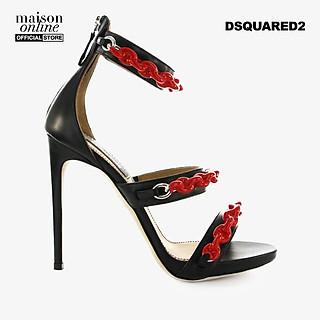 DSQUARED2 - Giày cao gót hở mũi Rubber Chain HSW0097-M002