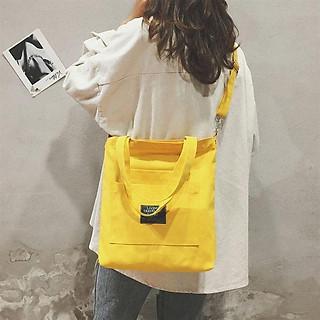 Túi Vải Tote Living Loại 1 Vải Canvas Siêu Đẹp Cặp Đeo Chéo Ulzzang Hàn Quốc BT17