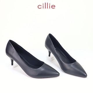 Giày cao gót nữ gót nhọn cao 5cm Cillie 1216