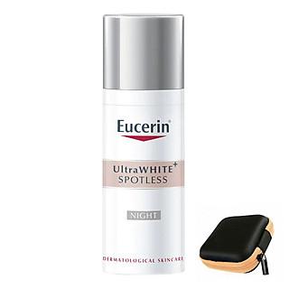 Eucerin Whitening UltraWHITE+ SPOTLESS Night Fluid: Kem Dưỡng Trắng và Mờ Đốm Nâu Ban Đêm (50ml)