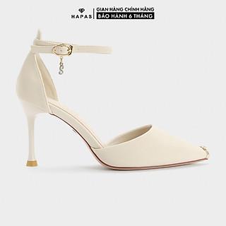 Giày Cao Gót Nữ Quai Hậu Mũi Sắt 9Phân HAPAS - CG9936