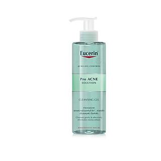 Gel rửa mặt cho da dầu mụn Eucerin ProAcne cleansing gel 400ml