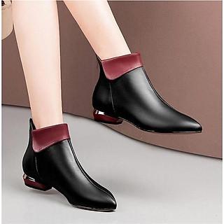 Boots nữ phong cách Châu Âu