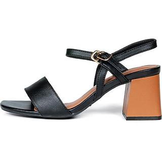 Giày Sandal cao gót nữ da bò thật 100% K512 - Chính hãng Kaleea