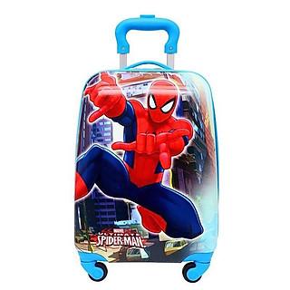 Vali trẻ em bé trai hình siêu nhân nhện