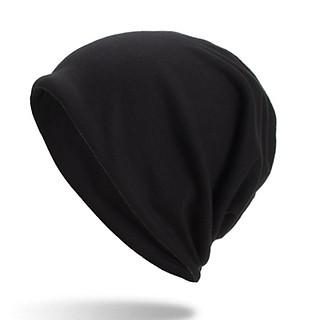 Mũ trùm đầu thun trơn đa năng, Khăn trùm đầu phù hợp cả nam và nữ