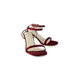Giày sandal cao gót quai mảnh gót trụ  cao 5cm thời trang PABNO PN821