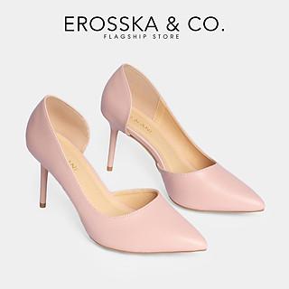 Giày cao gót Erosska thời trang nữ bít mũi gót nhọn kiểu dáng cơ bản cao 9cm CP001