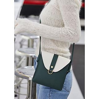 Túi đeo chéo nữ phong cách sành điệu 2020 da PU cao cấp TD02