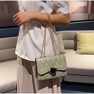 Túi xách nữ đeo chéo nhỏ xinh da mềm phong cách hàn quốc lavito TX10
