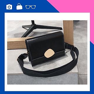 Túi nữ đeo chéo khóa đồng cá tính – Túi đeo chéo nữ da PU chông thấm cao cấp – Phụ kiện không thể thiếu của các bạn nữ - TA0298