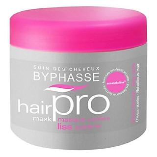 Ủ Tóc Hair Pro Byphasse Dành Cho Tóc Xơ Rối (500ml) màu hồng