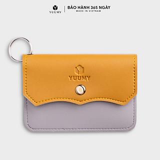 Móc khóa thời trang YUUMY YMK4 - Màu sắc trẻ trung - Thiết kế hiện đại - Đa chức năng sử dụng - Đựng thẻ ngân hàng, thẻ xe, chìa khóa xe - Tiên dụng mang theo bên người (Dài 10cm x Cao 8cm )