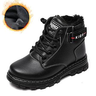 Giày Martin Boots trẻ em nam chống nước, chống mòn bảo vệ đôi chân bạn