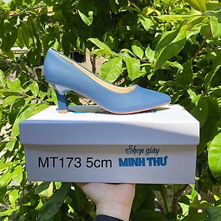 [ Shop giày somina ] Giày VIP gót nhọn cao 5cm MT173