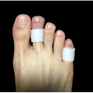 Sét 2 Ống silicon bảo vệ ngón chân và ngón tay PKG44