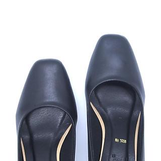 Giày Cao Gót 5P Mũi Vuông GMIC | Giày Cao Gót Kiểu Dáng Công Sở  5008