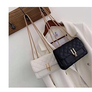 Túi đeo chéo nữ trần trám bút chì TNX 417