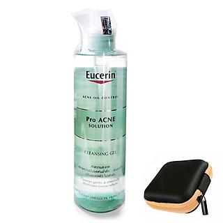 Eucerin Pro ACNE Solution Cleansing Gel: Gel Rửa Mặt Da Mụn (400 ml)