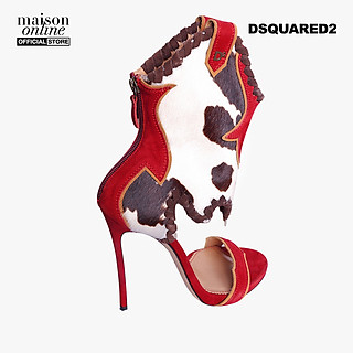 DSQUARED2 - Giày cao gót hở mũi cổ cao HSW0087-A029