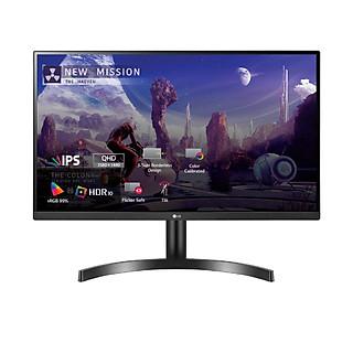 Màn Hình Gaming LG 27QN600-B 27 inch QHD (2560x1440) 5ms / 75Hz / HDR / IPS / AMD FreeSync - Hàng Chính Hãng
