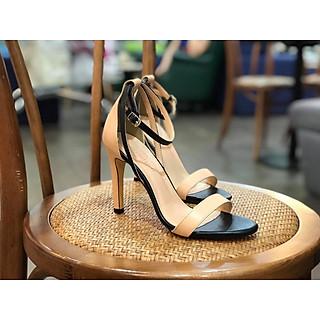 Sandal nữ quai mảnh phối màu thời trang đế 7p xinh xắn S73