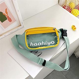 Túi Đeo Chéo (Túi Đeo Thắt Lưng) Nam Nữ Kiểu Macaron Phong Cách Hàn Quốc- Haohiyo - Mã XT016