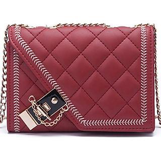 Túi đeo chéo da nữ dạo phố dễ thương MADT111