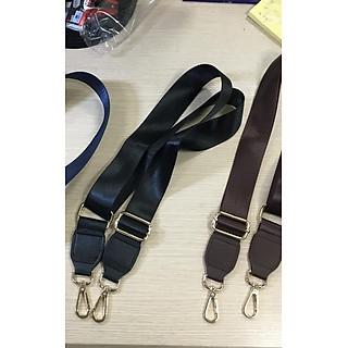 Dây Túi đeo chéo da pu kết hợp với dây vải xì teen, dây đeo vai có thể điều chỉnh  có thể điều chỉnh