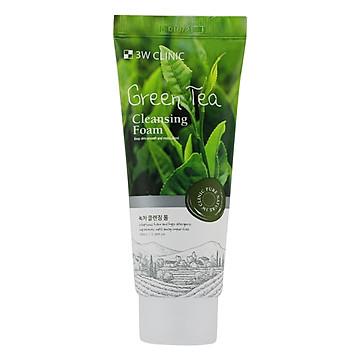 Sữa Rửa Mặt Chiết Xuất Từ Trà Xanh 3W Clinic Green Tea Foam Cleansing (100ml)