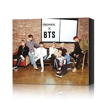 Bộ 10 Mặt Nạ Dưỡng Sáng Da, Mờ Thâm Đặc Biệt Mediheal With BTS - Brightening & Revitalizing Care + 14 Photocard BTS  [PHIÊN BẢN ĐẶC BIỆT GIỚI HẠN]