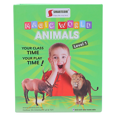 Flash card 4D Magic World (Animals)