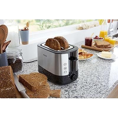 Máy Nướng Bánh Mì Philips HD2637 (950W) - Hàng chính hãng
