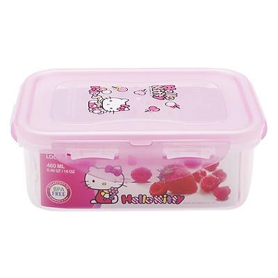 Hộp Nhựa Hình Chữ Nhật Lock&Lock Hello Kitty LKT818 (460ml)