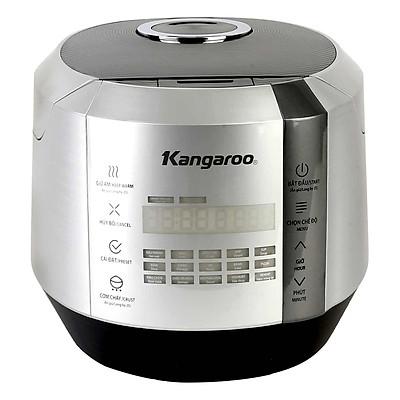 Nồi Cơm Điện Tử Kangaroo KG598 (1.5L) - Bạc- Hàng chính hãng
