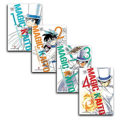 Combo Magic Kaito (Trọn Bộ 4 Cuốn)