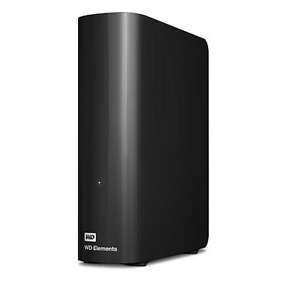 Ổ Cứng Di Động WD Elements Desktop 4TB 3.5 USB 3.0 - WDBBKG0040HBK-SESN - Hàng Chính Hãng