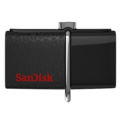Thanh Nhớ Ngoài USB Sandisk Ultra Dual USB Drive 3.0 32GB (Đen) - Hàng Chính Hãng