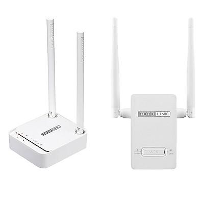 Bộ Phát Wifi Totolink N200RE-V3 Và Kích Sóng Wifi Totolink EX200 – Hàng Chính hãng