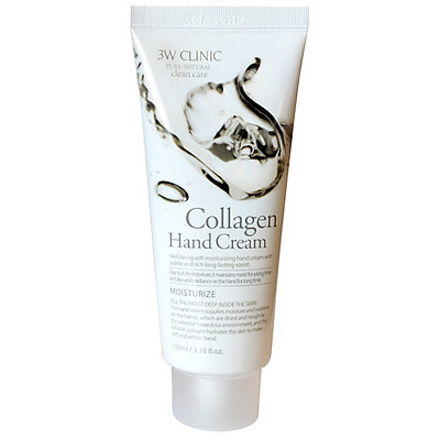 Kem Dưỡng Da Tay Tinh Chất Collagen 3W Clinic Hand Cream (100ml)