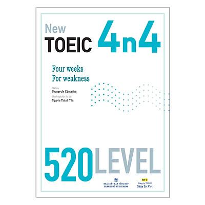 New TOEIC 4n4 - 520 Level (Kèm CD)