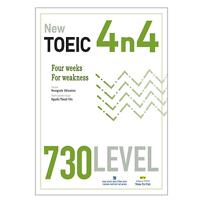 New TOEIC 4n4 - 730 Level (Kèm CD)