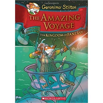 Geronimo Stilton: The Kingdom Of Fantasy 3: The Amazing Voyage (Hc) - Hardcover