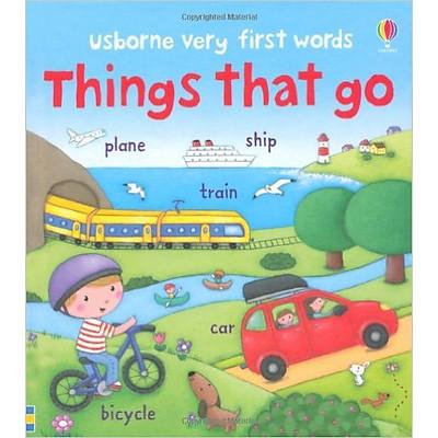 Sách thiếu nhi tiếng Anh - Usborne Things that go