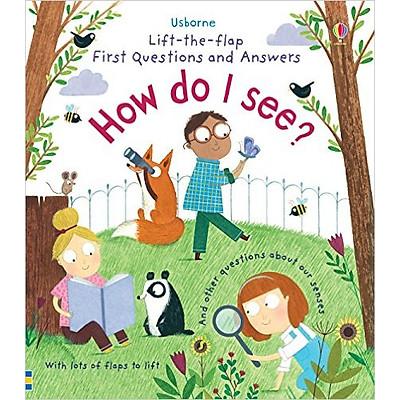 Sách thiếu nhi tiếng Anh - Usborne How do I see?