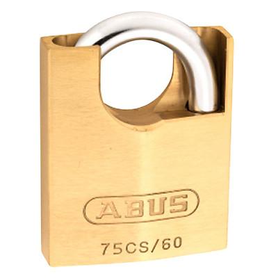 Ổ Khóa Đồng Chống Cắt Chìa Vi Tính EC Abus 75CS/60 (60mm) - Vàng Đồng