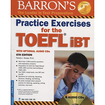 Practice Exercises For The TOEFL iBT (6th Edition) - Kèm CD