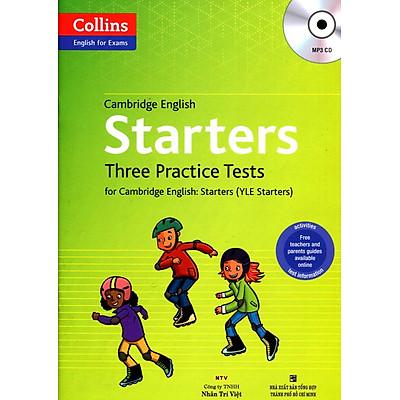 Collins - English For Exams - Cambridge English Starters Three Practice Test (Kèm CD)