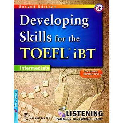 Developing Skills For The Toefl IBT - Listening - Kèm CD