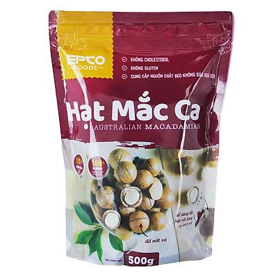 Hạt Mắc Ca Nứt Vỏ Epco Foods (500g)